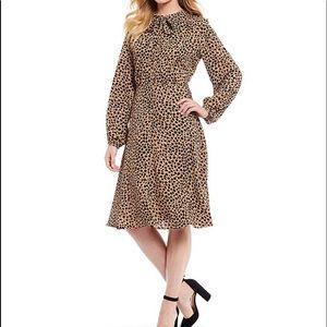 NWT Ladies Gibson & Latimer Leopard Dress
